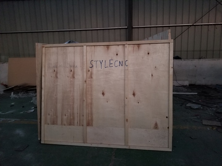 the package for CNC router for molding