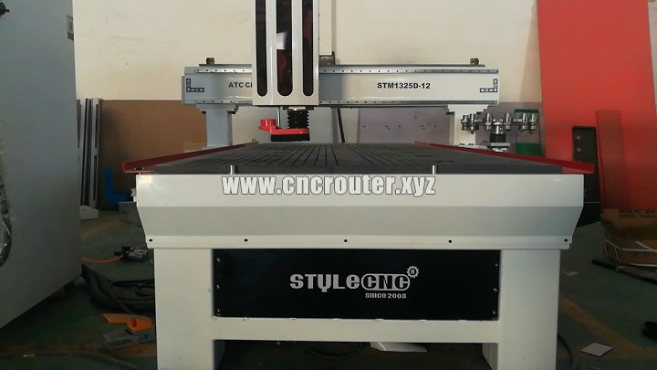 CNC router with ATC system