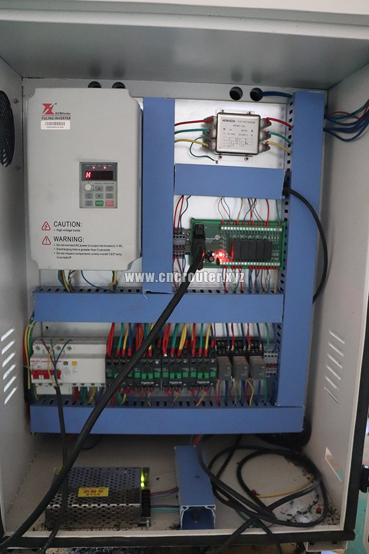 CNC wood router control box