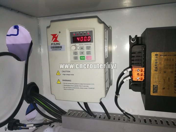 Inverter of CNC router
